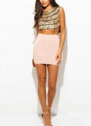 Бандажная мини юбка от new look
