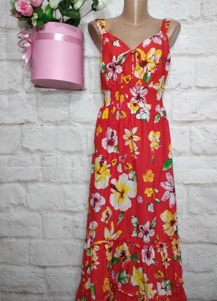 Платье миди коттоновое р 16