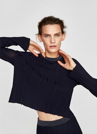 Джемпер*zara knit (размер 38)