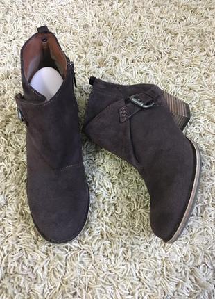Ботинки замша marks&spencer