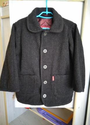 Кашемировое полупальто , куртка