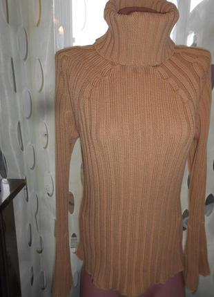#теплый свитер в резинку #yoors#гольф #реглан #кофта #