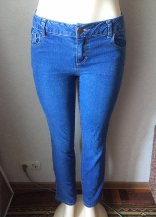 Синие джинсы прямого кроя dorothy perkins