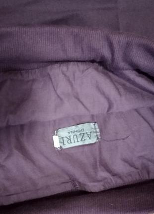 Хлопковая длинная юбка с вышивкой и прошвой.4 фото