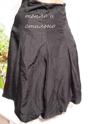 Юбка тюльпан roseti супер стиль с флисовой подкладкой, состояние новой!