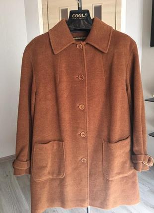 Кашемировое пальто ( френч)  eugen klein  германия , оригинал !!