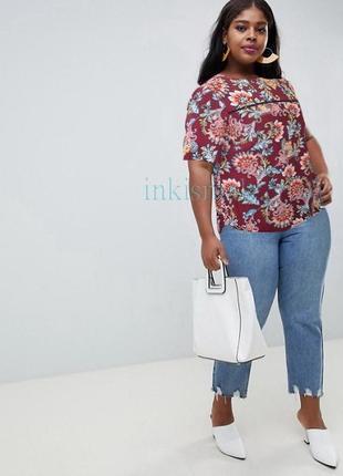 Красивая блуза f&f uk 20 большой размер