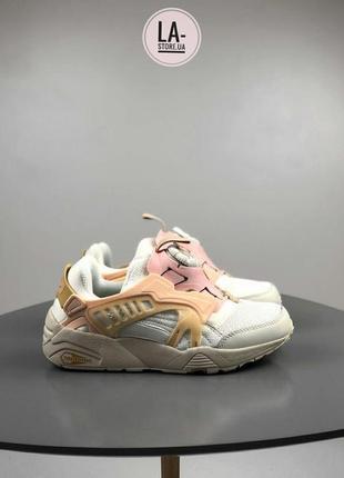 Новинка! женские кроссовки puma disc blaze ct beige pink