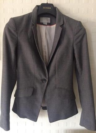 Пиджак приталенный h&m