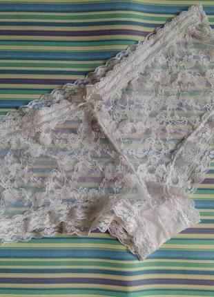 💗.10.м.sorbet. эротические кружевные трусики. шортики. белые