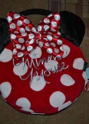 Стильная сумка подушка minnie mouse девочке disney