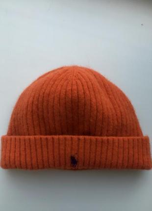 Короткая шапка ralph lauren (beanie)