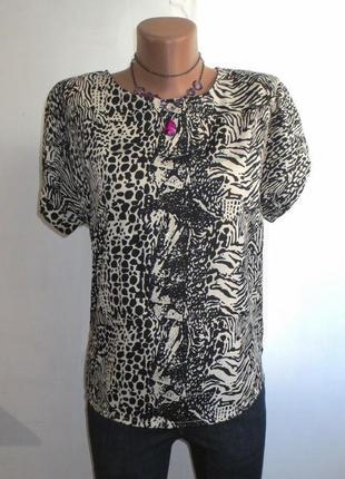 Блуза от fabulous идеальна для базового гардероба размер: 50-l, xl
