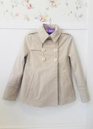 Стильное пальто пиджак zara
