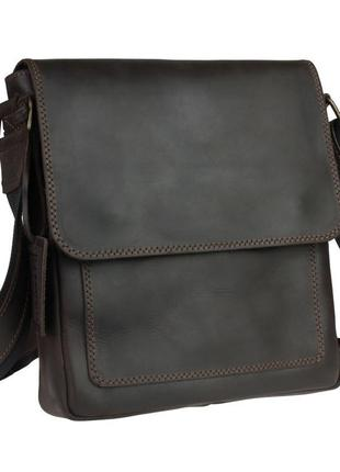 67e259835865 Кожа. ручная работа. кожаная коричневая, черная мужская сумка через плечо.  барсетка.