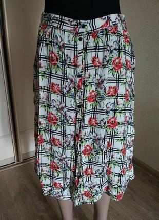 Летняя юбка р-р 46-48