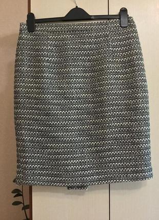 Твидовая юбка next