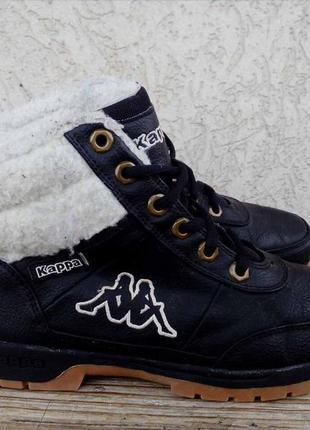 Зимние ботинки kappa италия 38р