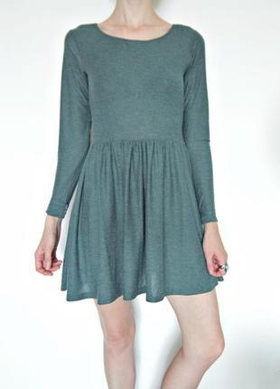 Нежное платье миди пастельно мятного цвета topshop
