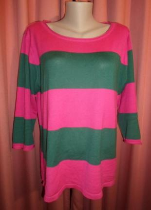 Стильный свитерок в полоску