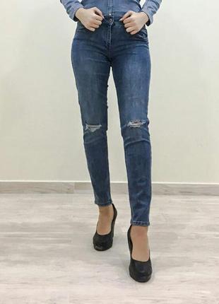 Модные новые джинсы h&m, скинни h&m, синие джинсы h&m