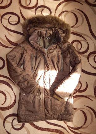 Куртка парка пуховик new look