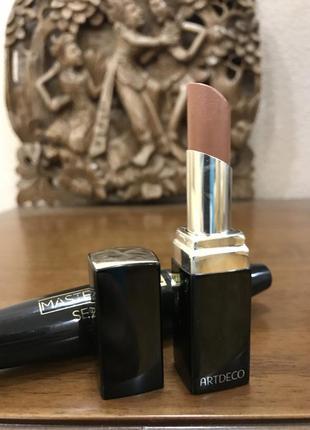 Помада artdeco color lip shine +новая тушь в подарок