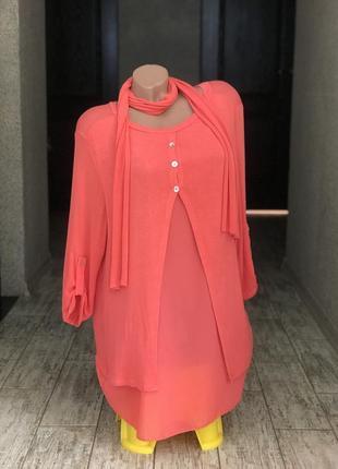 Красивая туника платье блуза джемпер