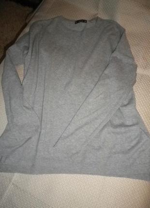 Уютный свитерок свитшот хлопок