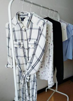 Платье-рубашка f&f р-р 10