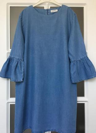 Супер трендовое платье с воланами