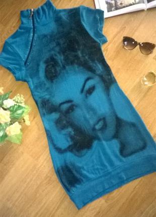 Симпатичное платье-туника от mari time