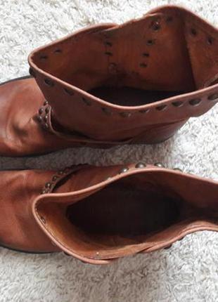 Ботинки ботильоны сапоги натуральная кожа2 фото