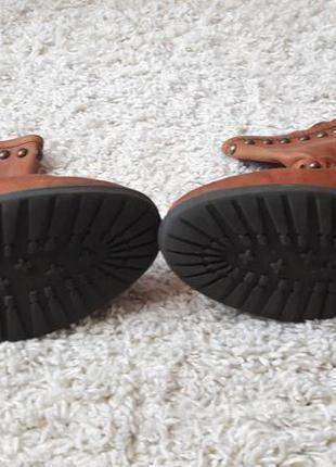 Ботинки ботильоны сапоги натуральная кожа3 фото