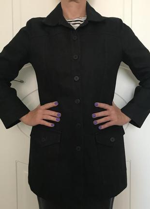 Куртка пиджак жакет плащ dallas street wear чёрный джинсовый