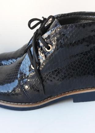 Демисезонные утепленные ботинки yu.g, б/у 1 раз