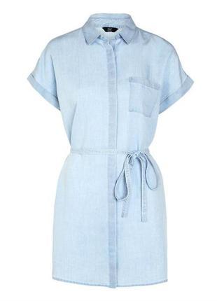 Джинсовое платье рубашка f&f