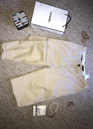 Бежевые штанишки  классические h&m ☘️
