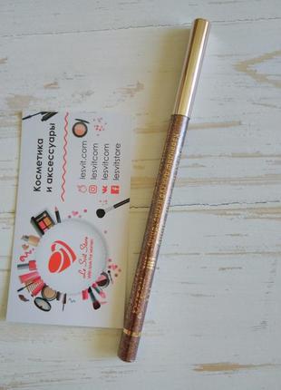 Карандаш для глаз с блестками (тени-карандаш) оттенок - коричневый