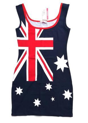 Удлиненная майка их хлопка, новая, австралийский бренд supre