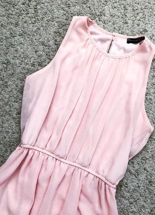 Нежное розовое платье atmosphere