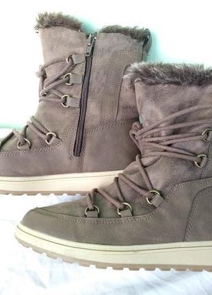 Ботинки-сапожки зимние blue motion р.38 женские мембранные