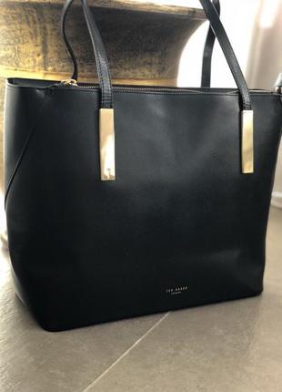 Кожаная сумка 100%натуральная кожа шоппер