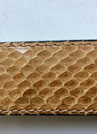 Ремень пояс натуральная змеиная кожа
