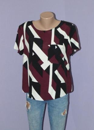 Абстрактная блузочка 10 размера
