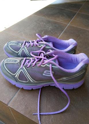 Skechers tone-ups фитнес оригинал фиолетовые