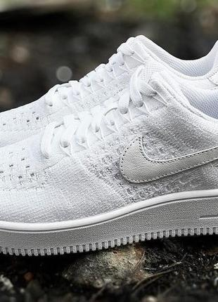 """Кроссовки nike air force 1 ultra flyknit low """"white"""""""