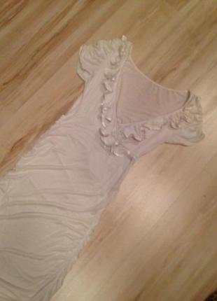 Платье летнее трикотажное