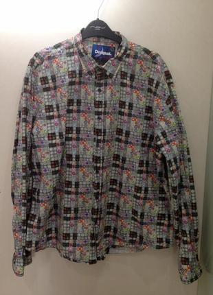 Рубашка известного испанского бренда