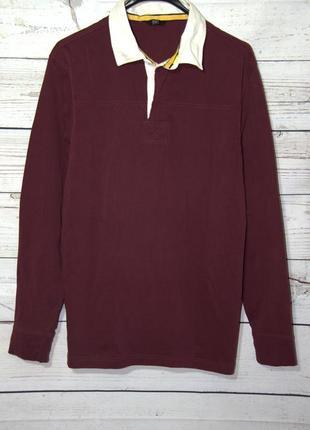 Классный мужской пуловер с воротником-рубашкой
